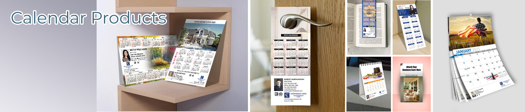 Coldwell Banker Real Estate Calendar Products - Coldwell Banker  2019 calendars, magnets, door hangers, bookmarks, tear away note pads | BestPrintBuy.com