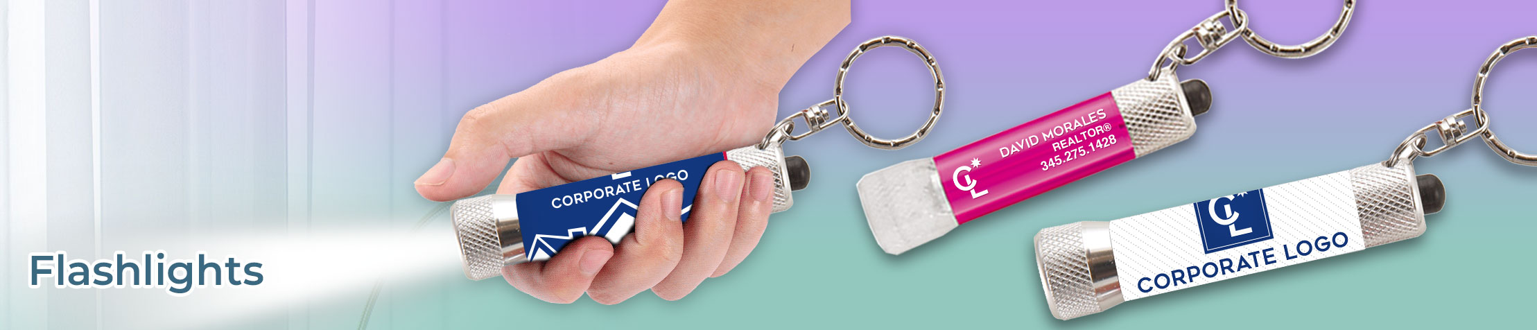 Coldwell Banker Real Estate Carabiner - Coldwell Banker  personalized realtor promotional products | BestPrintBuy.com