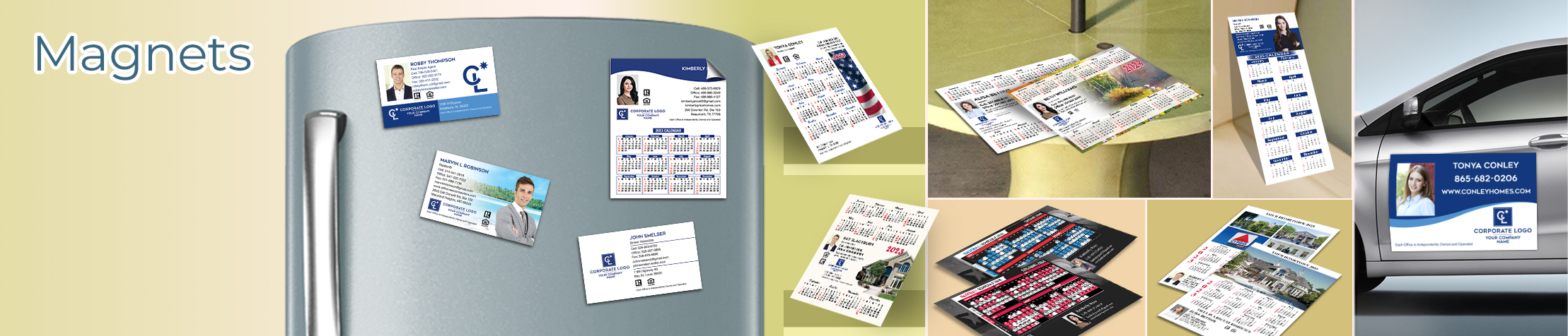 Coldwell Banker Real Estate Magnets - Coldwell Banker car magnets, sports schedules, calendar magnets | BestPrintBuy.com