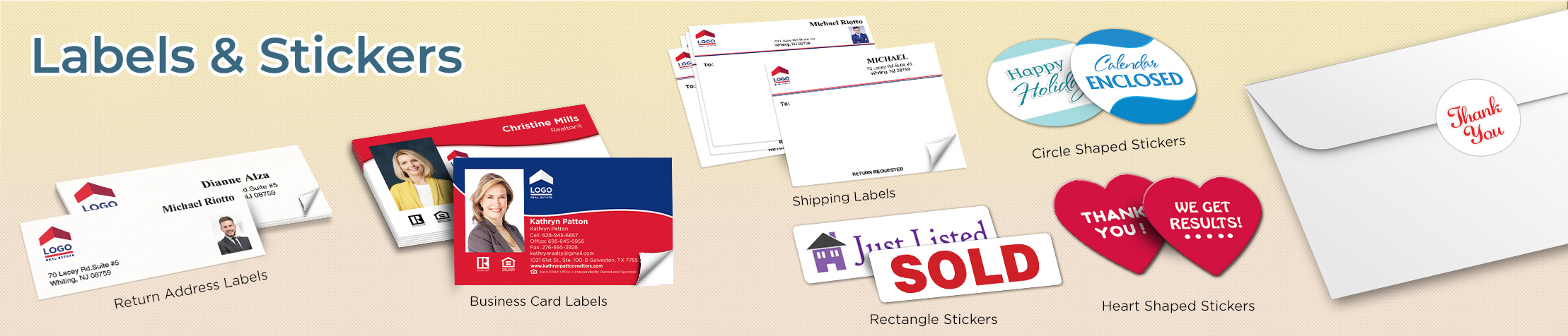 ERA Real Estate Labels and Stickers - ERA Real Estate business card labels, return address labels, shipping labels, and assorted stickers | BestPrintBuy.com