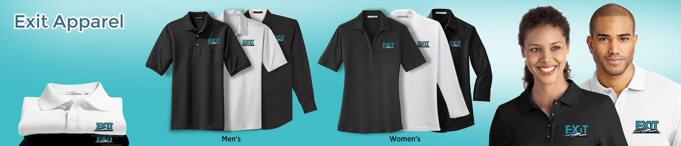 Exit Realty Apparel - Exit Realty approved vendor logo apparel | Men's & Women's shirts | BestPrintBuy.com