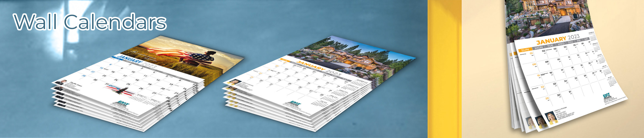 Exit Realty Wall Calendars - Exit Realty approved vendor 2019 wall calendars | BestPrintBuy.com