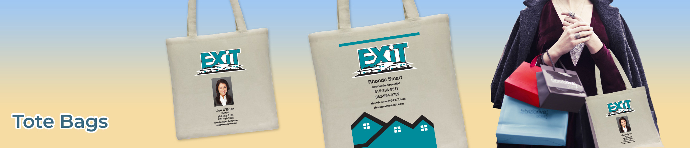 Exit Realty Real Estate Economy Can Cooler - Exit Realty approved vendor personalized realtor promotional products | BestPrintBuy.com