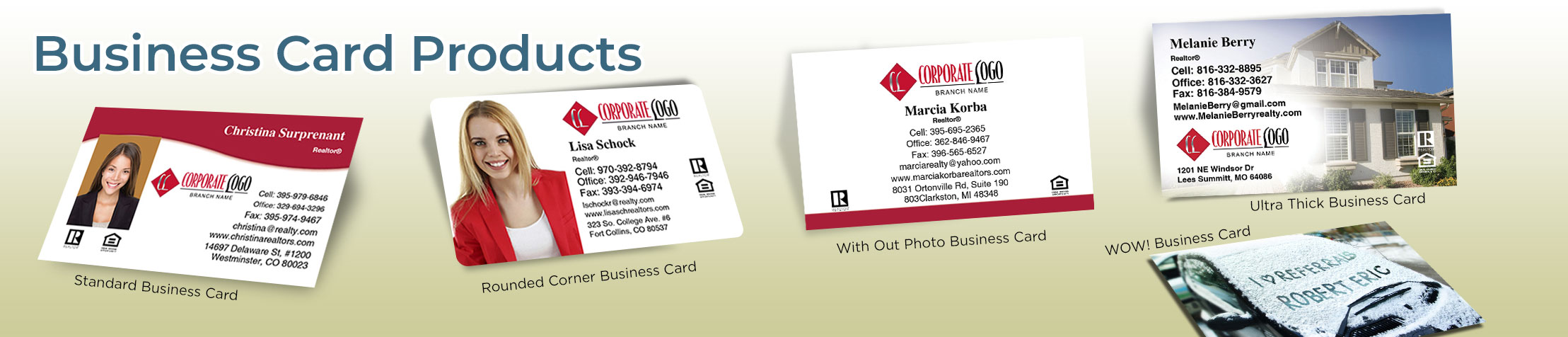 HomeSmart Real Estate  Business Card Products - HomeSmart Real Estate  - Unique, Custom Business Cards Printed on Quality Stock with Creative Designs for Realtors | BestPrintBuy.com