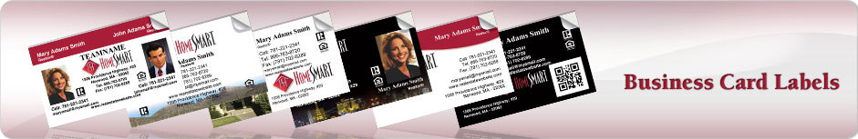 Home Smart Business Card Labels