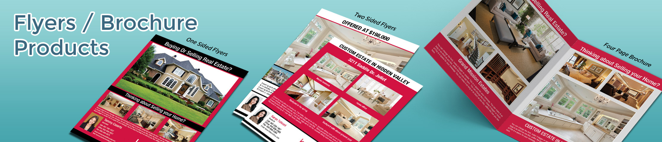 Keller Williams Real Estate Flyers and Brochures - KW approved vendor flyer and brochure templates for open houses and marketing | BestPrintBuy.com