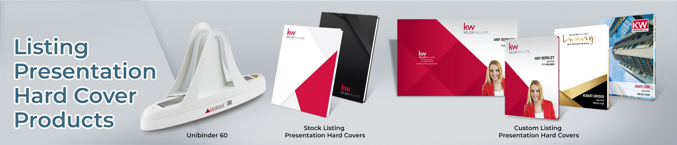 Keller Williams Real Estate Presentation covers - KW approved vendor covers | BestPrintBuy.com