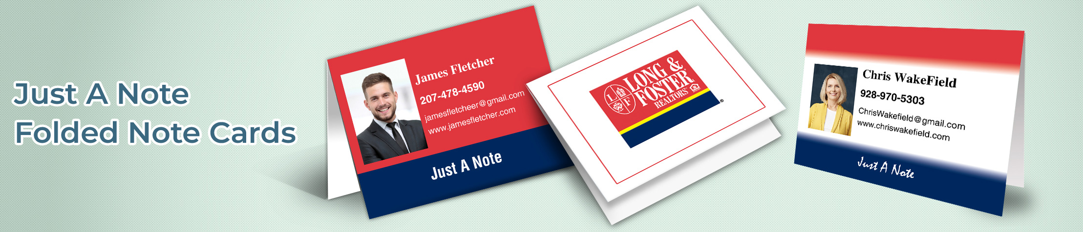 Long and Foster Real Estate General Folded Note Cards - Long and Foster  note card stationery | BestPrintBuy.com