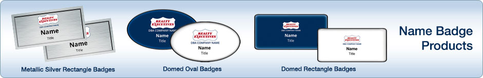 Realty Executives Name Badges