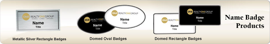 Realty ONE Group Real Estate NameBadges