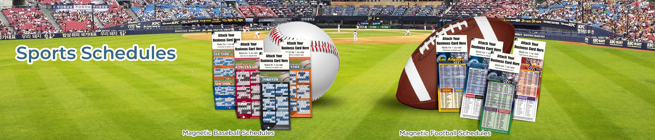Realty Associates Real Estate Sports Schedules - Realty Associates custom sports schedule magnets | BestPrintBuy.com