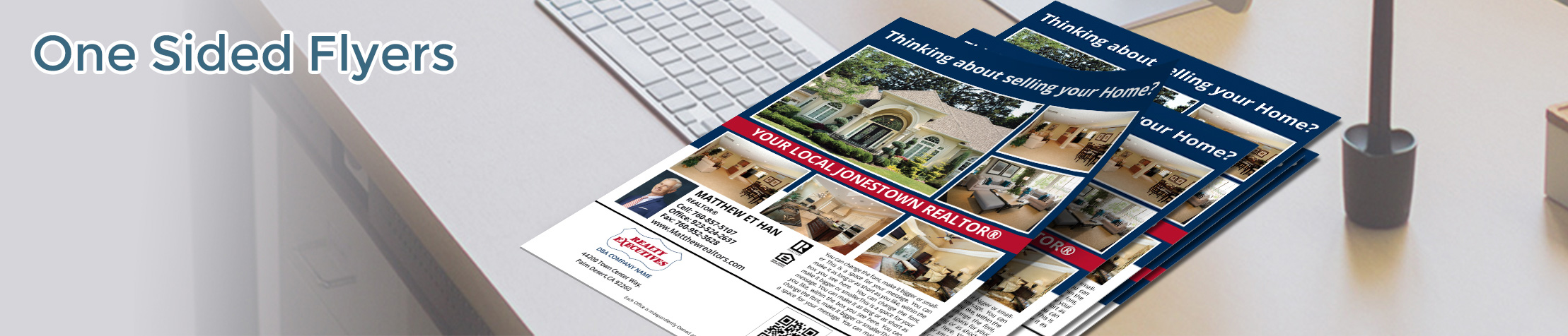 Realty Executives Real Estate Flyers and Brochures - Realty Executives  one-sided flyer templates for open houses and marketing | BestPrintBuy.com