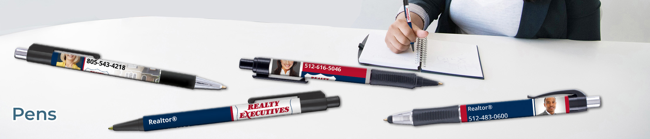 Realty Executives Real Estate Pens - Realty Executives personalized realtor promotional products | BestPrintBuy.com