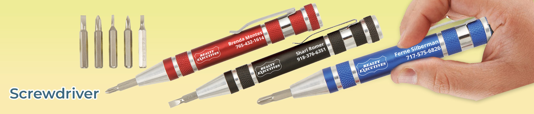 Realty Executives Real Estate Flashlights - Realty Executives personalized realtor promotional products | BestPrintBuy.com