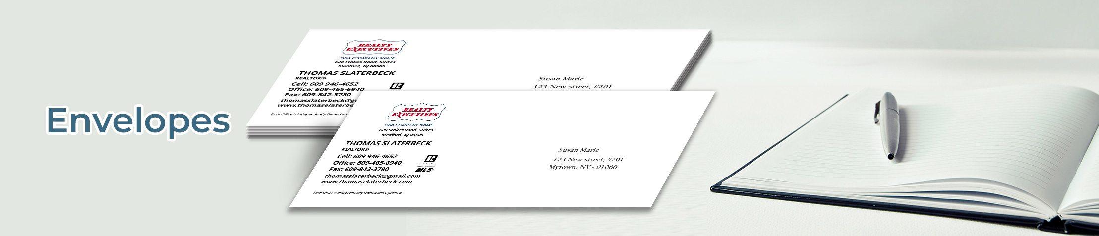 Realty Executives Real Estate #10 Envelopes - Realty Executives - Custom Stationery Templates for Realty Executives Offices and Real Estate Agents | BestPrintBuy.com