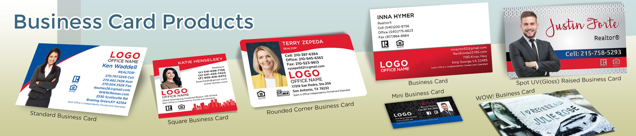 RE/MAX Real Estate Business Card Products - RE/MAX  - Unique, Custom Business Cards Printed on Quality Stock with Creative Designs for Realtors | BestPrintBuy.com