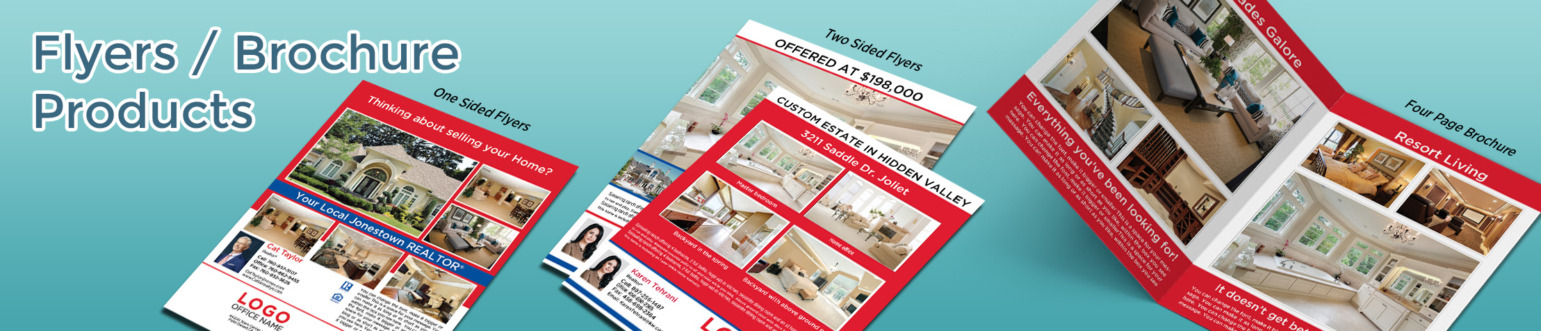 RE/MAX Real Estate Flyers and Brochures - RE/MAX flyer and brochure templates for open houses and marketing | BestPrintBuy.com