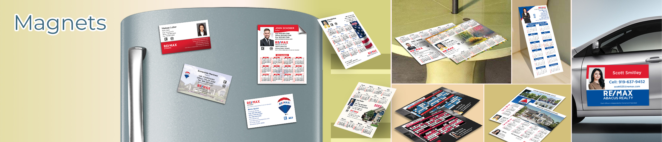 RE/MAX Real Estate Magnets - RE/MAX car magnets, sports schedules, calendar magnets | BestPrintBuy.com