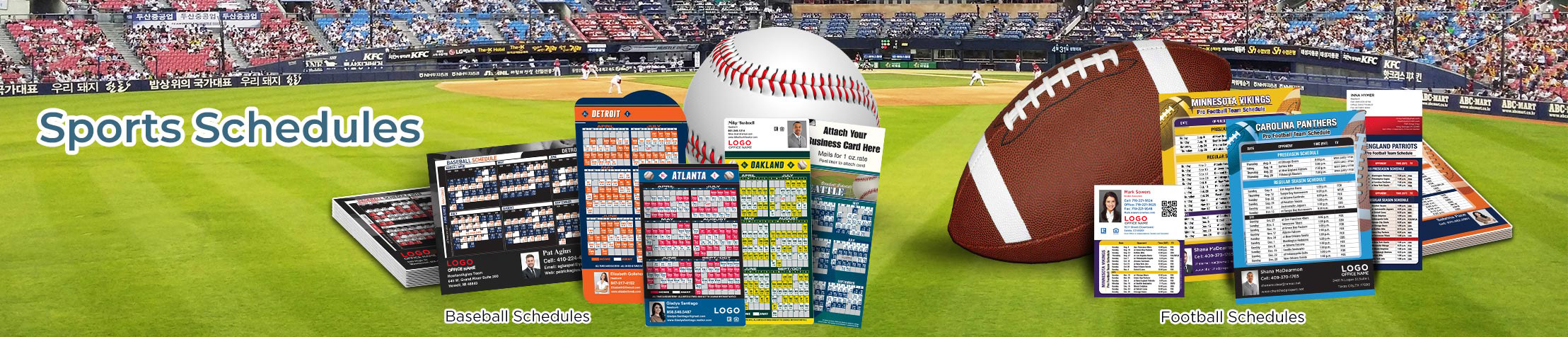 RE/MAX Real Estate Sports Schedules - RE/MAX custom sports schedule magnets | BestPrintBuy.com