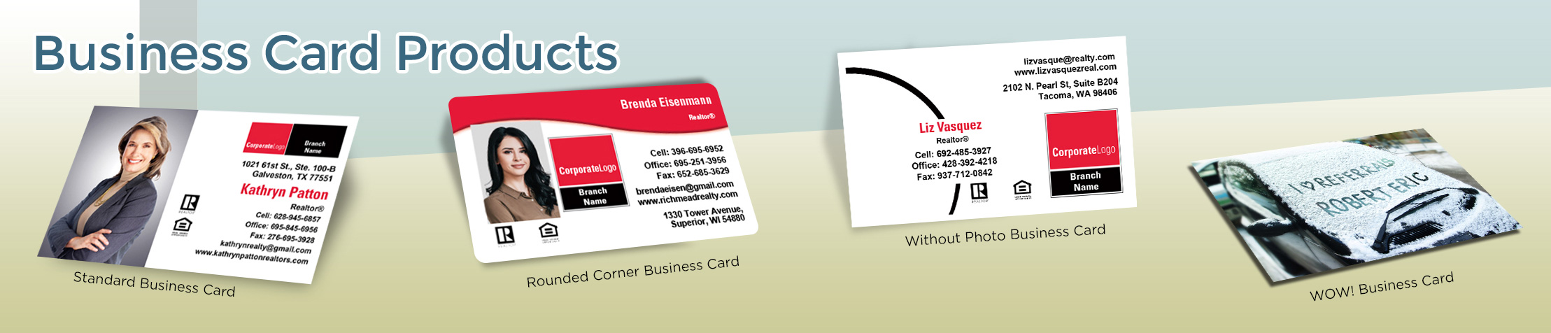 Real Living Real Estate Business Card Products - Real Living  - Unique, Custom Business Cards Printed on Quality Stock with Creative Designs for Realtors | BestPrintBuy.com