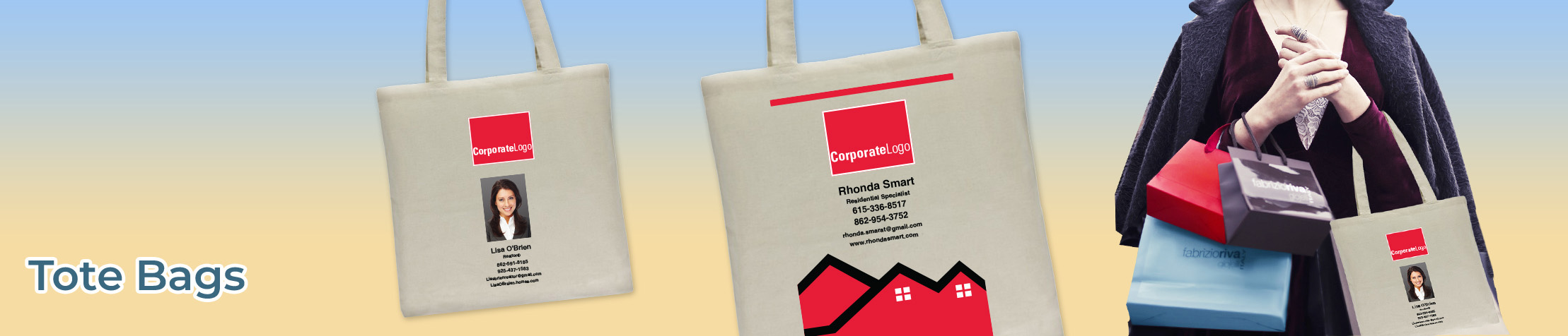 Real Living Real Estate Tote Bags - Real Living Real Estate  personalized realtor promotional products | BestPrintBuy.com