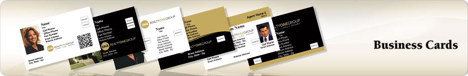 Realty ONE Group Real Estate Business Cards