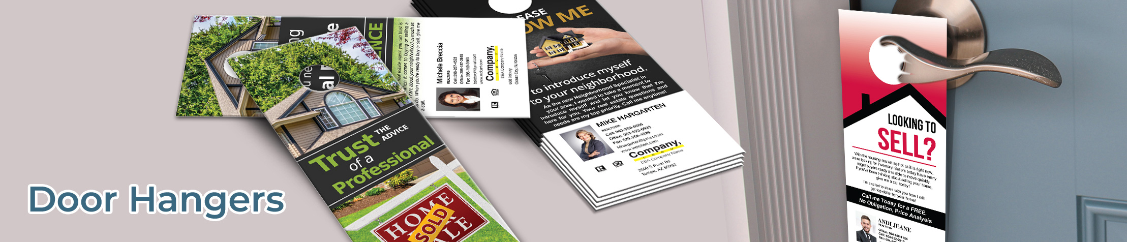 Weichert Real Estate Door Hangers - Weichert Door Knockers for Realtors | BestPrintBuy.com