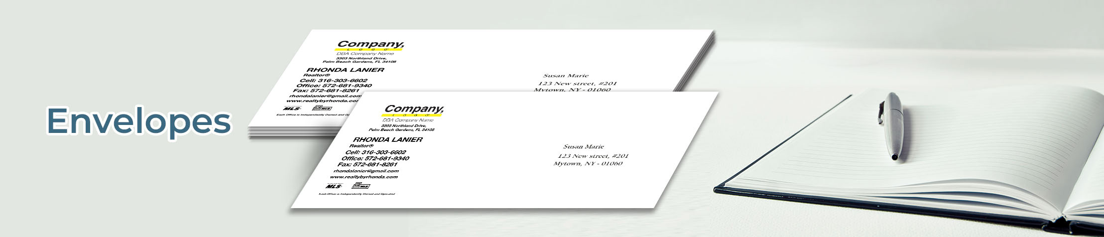 Weichert Real Estate #10 Envelopes - Weichert - Custom Stationery Templates for Weichert Offices and Real Estate Agents | BestPrintBuy.com