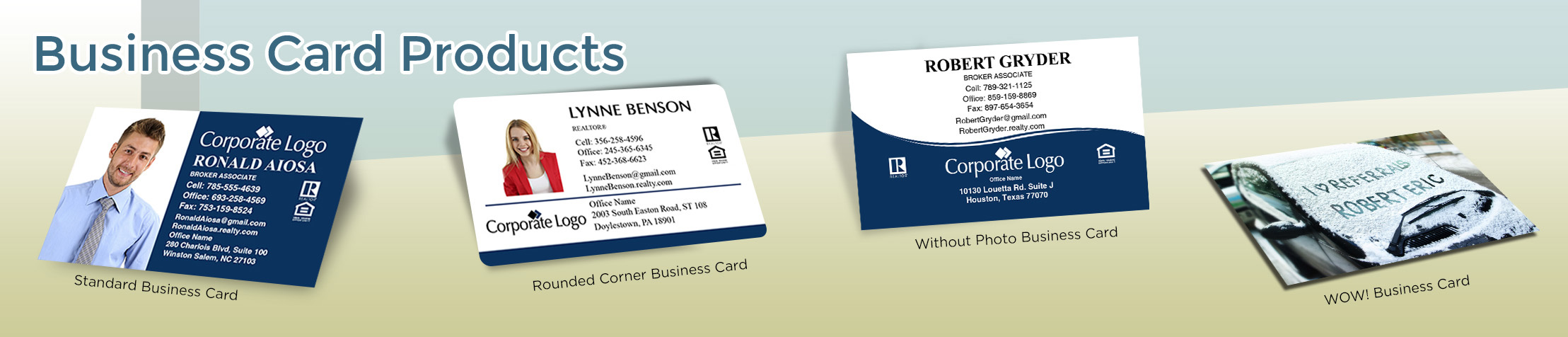 Windermere Real Estate Business Card Products - Windermere  - Unique, Custom Business Cards Printed on Quality Stock with Creative Designs for Realtors | BestPrintBuy.com
