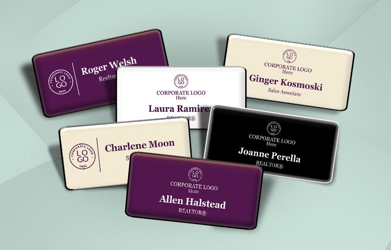 Berkshire Hathaway Real Estate Name Badges