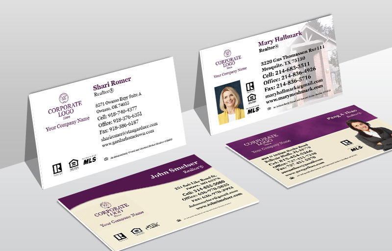 Berkshire Hathaway Real Estate Ultra Thick Business Cards - Berkshire Hathaway Thick Stock & Matte Finish Business Cards for Realtors | BestPrintBuy.com