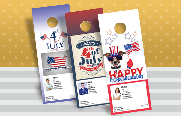 Keller Williams Door Hangers keller williams july 4th products - postcards, greeting cards